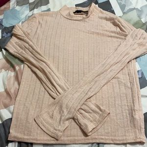 Turtleneck Long Sleeve Shirt